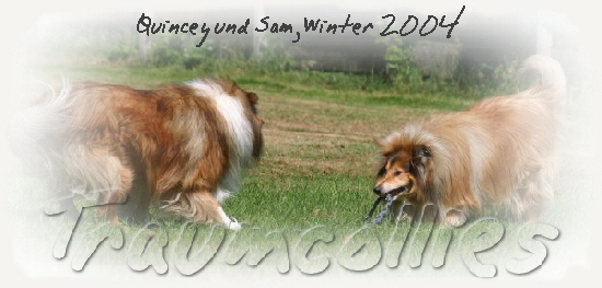Quincey und Sam, Winter 2004